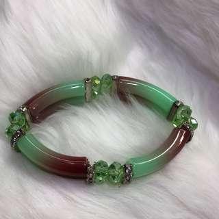 Summer bracelet - Green