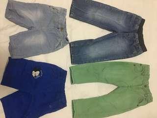 Bundle boys bottoms / jeans 12-24 months