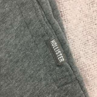 Hollister sweatpants in grey 灰色棉質運動褲
