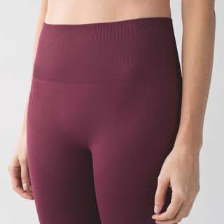 Lululemon Zone In Tights (Wineberry)