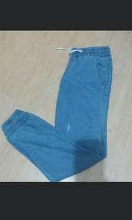 Jogger pants (Denim)