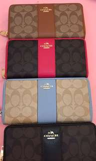 READY STOCK SIGNATURE COACH LONG WALLET