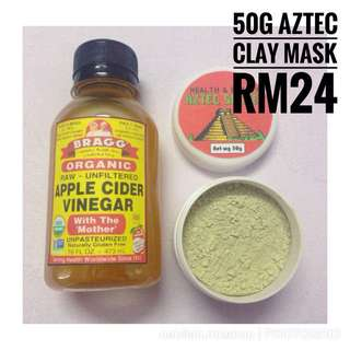 50g AZTEC CLAY MASK!!