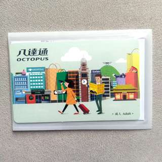 [Free Shipping 包郵] 旅客版 八達通 Sold Tourist Octopus