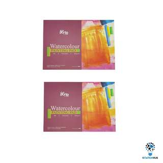 Arto A4 Cold Pressed 100% Cotton Painting Paper Pad 300gsm | 24 Sheets [YL-P-ARTO-CR36256(2PK)]