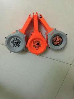 Nerf 25 darts drum collection