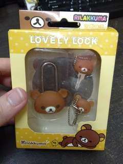 Rilakkuma lovely lock