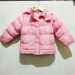 Pink Bubble Jacket 5-6