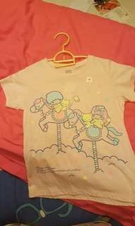 Brand new uniqlo little twin star shirt for kids