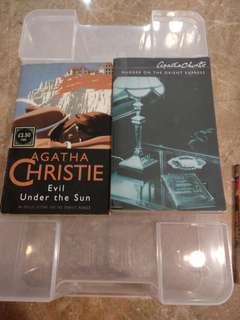 Agatha Christie books x 2