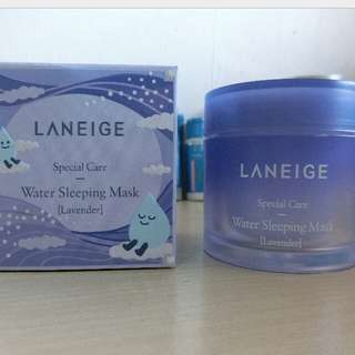 Laneige water sleeping mask lavender full new