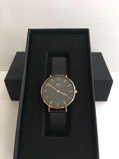 💥熱賣款💥黑色鋼錶32mm