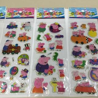 Peppa Puffy Stickers