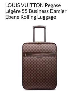 LOUIS VUITTON Pegase 55 Damier Ebene Rolling cabin case carry on size luggage