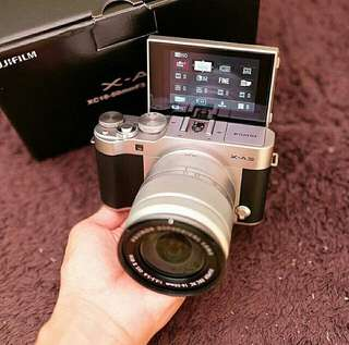 Mirroless fujifilm X - A3 kit 16-50mm OIS II