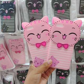 Grandbcs Case Softcase Cat Pink For Oppo A71