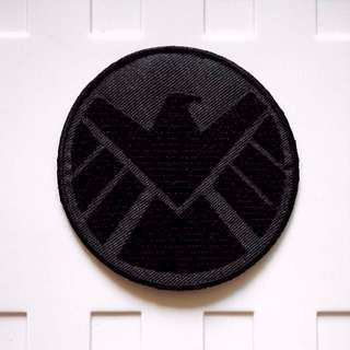 Marvel Agents Of Shield Logo Right Facing Avengers Iron On Patch