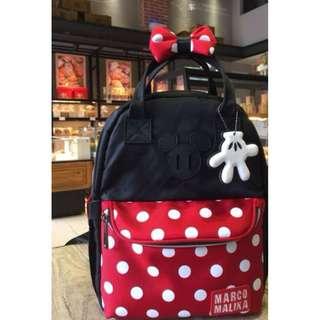 Minnie Mouse Bag pack (Medium)