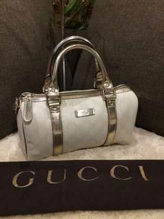 Authentic Gucci Mini Boston with dustbag