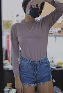 vintage long sleeved shirt