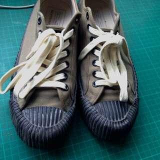 降價 餅乾鞋 excelsior 球鞋 帆布鞋 古著 vintage converse復古 軍綠
