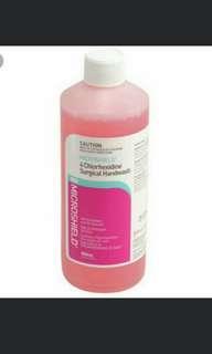 Microshield Handrub Sanitizer and Handwash Soap