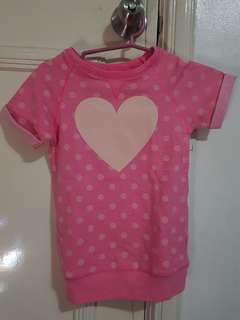 Carter toddler girls shirt