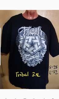 Tribal oversize/loosefit shirt