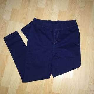 Blue Garterized Pants