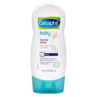 Cetaphil Baby Baby Gentle Wash Moisturizing (Organic)