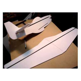 Rc foam board high strenght laminated waterproof