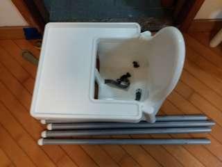 二手BB餐椅飯椅(宜家Ikea)