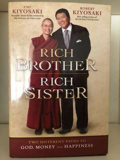 Rich Brother Rich Sister by Emi & Robert Kiyosaki