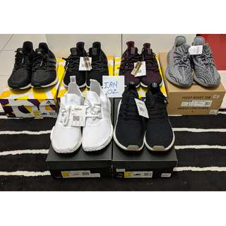 Adidas Ultraboost & NMD Sneaker Collection for Sale
