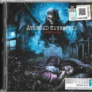 A7X Avenged Sevenfold Nightmare Imported CD