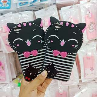 Grandbcs Case Softcase Cat Black For Oppo A71