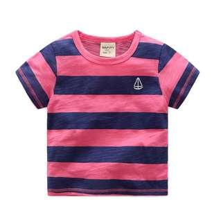 🙌男童🤹 竹節棉短袖上衣
