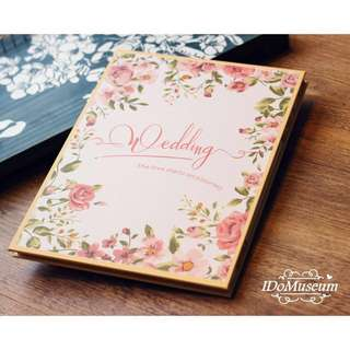Wedding Guestbook [FLORAL, TROPICAL]