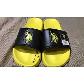 Brand new US POLO ASSN Slippers