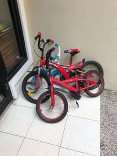 Sepeda anak polygon dan wimcycle bekas