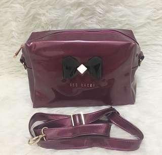 Ted Baker Classic Large Slingbag Purple