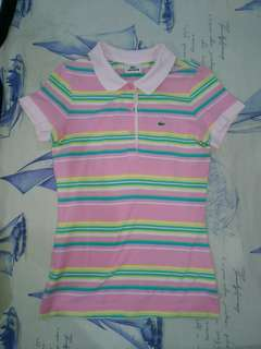 3 tops lacoste , cotton on , unbranded