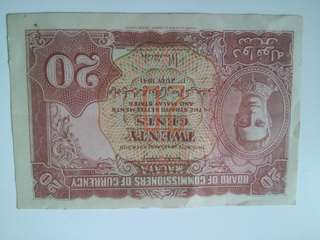 Straits settlement notes