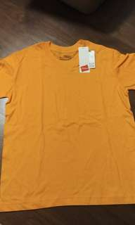 BN Orange Hanes 100% Ring Spun Cotton T-shirt
