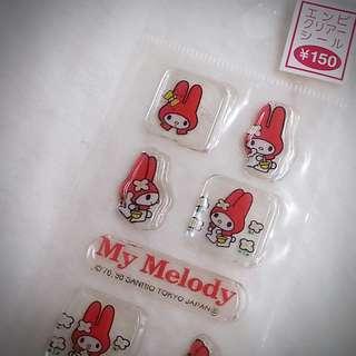MY MELODY 貼紙 256851