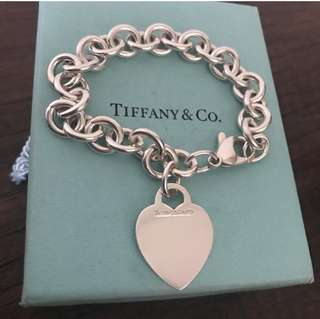 Heart Tiffany and Co bracelet
