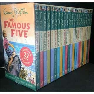 Famous Five Enid Blyton