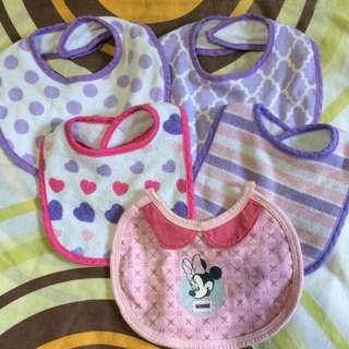 BIB FOR BABY GIRL