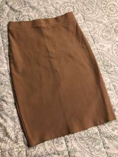 Pencil Office Skirt, with back slit