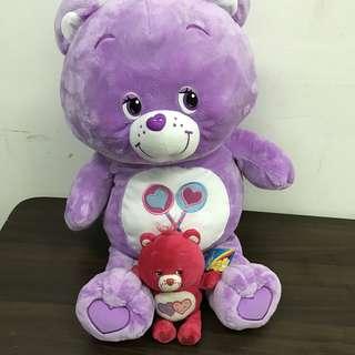 65cm Care Bear + small bear